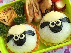 幼稚園弁当☆ひつじのショーン キャラ弁