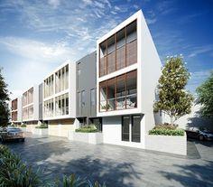 Conrad Architects Mornington Townhouses 02