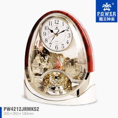 Fairy tale desk clock Varnish Rotating Pendulum clock with music PW4212, View Fairy tale desk clock Varnish Rotating Pendulum clock with music PW4212, POWER Product Details from Shenzhen Golden Power Precision Electronics Co., Ltd. on Alibaba.com
