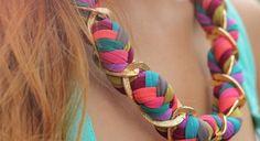 20 modelos de collares de trapillo sin tejer | El blog de trapillo.com