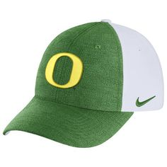 competitive price 23eb7 d9248 Women s Nike Green White Oregon Ducks Seasonal Heritage 86 Adjustable Hat