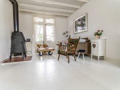 Houten Vloer Dekkend Wit Met Woca Floorpaint, Hoogeveen - Baltussen Parket