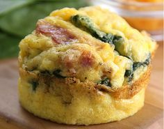 Turkey Bacon and Cheddar Egg Muffins - Grab and Go Egg Muffin Breakfast Round Up | Peace Love and Low Carb