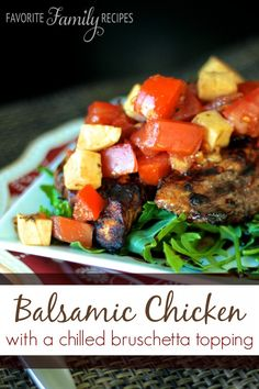 This balsamic chicken marinade has been a favorite at our house for a long time!  The first time we had it Echo made it for us and I fell in love!  I make it all the time for other recipes too, it is so good grilled and sliced onto salads or pastas or in a grilled chicken sandwich.