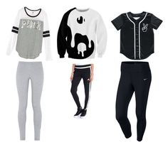 """""""Untitled #55"""" by brooklyen on Polyvore featuring adidas and NIKE"""