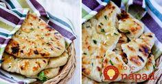 Došiel vám chlebík? Vyskúšajte tieto skvelé placky bez droždia, pripravené za pár minút.