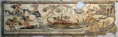 Kulinarstvo kroz vekove: Antička kuhinja: Sepias elixas a balineo - Kuvana . Lion Hunting, Two Birds, Pompeii, Cupid, Vintage World Maps, Cross Stitch, Villa, Scene, Museum