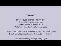 Selena Gomez, Marshmello - Wolves Lyrics Video