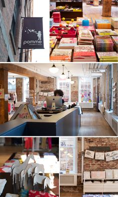 Pomme - Brooklyn (one of my very favorite kid stores)