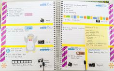Planner Page Week of Aug 18