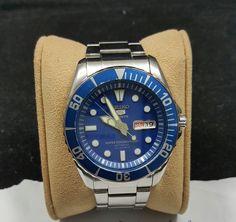 Seiko  blue submariner sea urchin snzf13k