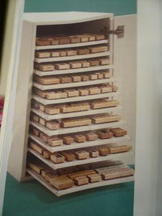 Storage for my wood mounted stamps? HELP! - Splitcoaststampers.com