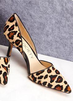 perfect leopard pump