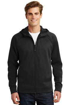 Sport-Tek Rival Tech Fleece Full-Zip Hooded Jacket. ST295