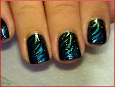 Cosmic Waves. I am totally going to try this! LOVE!