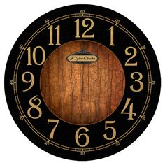 Black & Wood Clocks Collection | The Big Clock Store
