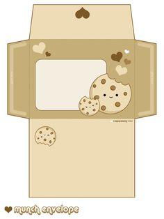 Un lot de 4 enveloppes et leur papier. [partie 2] - Kawaii Machine