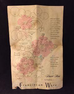 Authentic Vtg Franciscan Desert Rose Catalog Brochure Advertisement P&hlet Ad | eBay & Franciscan-Desert-Rose-How-to-Determine-Age- | Pinterest | Desert ...