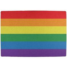 Rainbow Gay Pride Flag All Over Indoor Mat