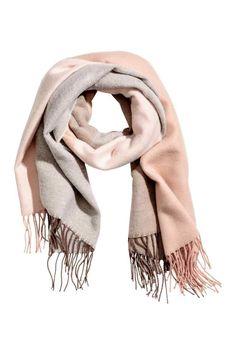 Duży szal - Różowy - ONA | H&M PL 1
