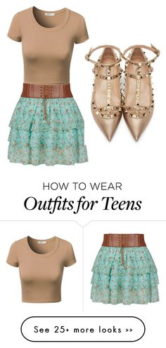 """""""LTT126"""" by zachy1218 on Polyvore featuring J.TOMSON and Valentino"""