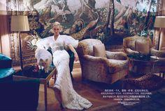 Fashion Editorial| Cate Blanchett by Koray Birand for Harper's Bazaar China | http://www.theglampepper.com/2013/11/11/fashion-editorial-cate-blanchett-by-koray-birand-for-harpers-bazaar-china/