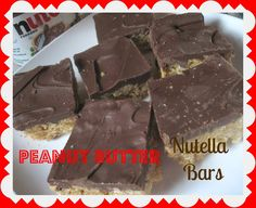 The Better Baker: Peanut Butter Nutella Bars