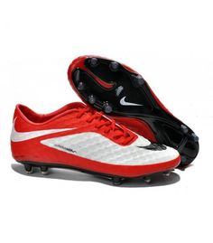 Acheter Coupe du monde 2014 Crampons Nike Hypervenom Phantom FG Rouge Blanc Noir pas cher en ligne 91,00€ sur http://cramponsdefootdiscount.com