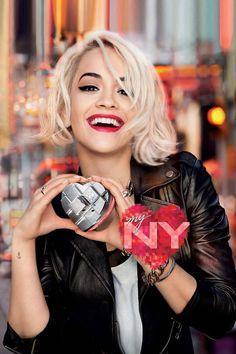 #DKNY My NY Fragrance   #RitaOra photographed by Francesco Carrozzini