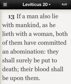 Bible Verses Against Gay 29