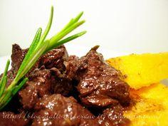 Spezzatino di manzo al vino rosso e cipolle, Ricetta stufato