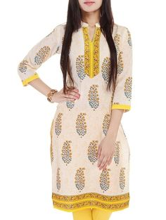 Check out what I found on the LimeRoad Shopping App! You'll love the Cream Cotton Regular Kurta. See it here http://www.limeroad.com/products/10463347?utm_source=df9ad5b1ad&utm_medium=android