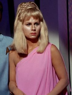 "Grace Lee Whitney -- R.I.P.  Yeoman Janice Rand on ""Star Trek"".  (April 1, 1930 - May 1, 2015)"