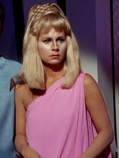 "Grace Lee Whitney -- R.I.P.  Yeoman Janice Rand on ""Star Trek"".  (April 1, 1930 - May 1, 2015)"