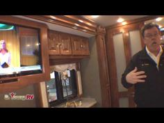 Stock 2013 Allegro Bus Class A Motor Home by Tiffin Tiffin Motorhomes, Motor Homes, Happy Campers, Tiny Houses, Cabins, Home And Living, Small Homes, Rv Motorhomes, Little Houses