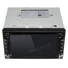 GPS Navigation HD 2DIN 6.2 Inch Car Stereo DVD Player Bluetooth iPod MP3 TV+Camera Sale - Banggood.com