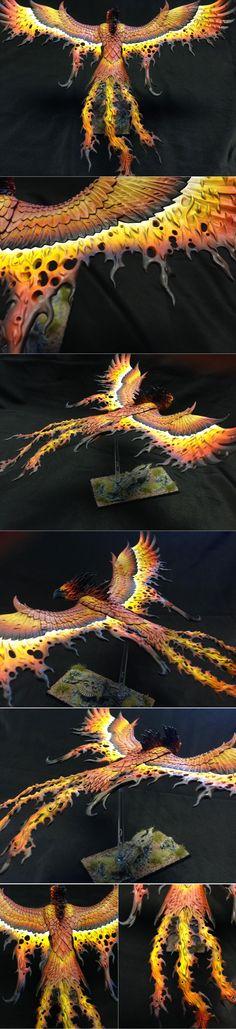 High Elf Flamespyre Phoenix