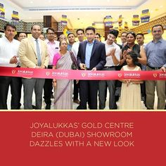 Joyalukkas Gold Centre Deira Showroom Dazzles With A New Look The Was Inaugurated