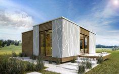 Die Tiny-House-Bewegung kommt in Österreich an - Architektur & Stadt - derStandard.at › Immobilien Tiny House, Garage Doors, Outdoor Structures, Outdoor Decor, Home Decor, Modern Tiny House, Communities Unit, Tiny House Cabin, Detached House