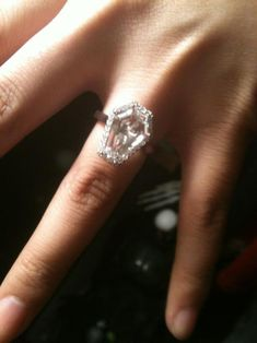coffin shaped ring..Till death do us part.
