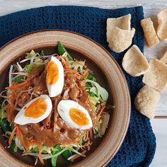 Veg Recipes, Indian Food Recipes, Asian Recipes, Vegetarian Recipes, Cooking Recipes, Healthy Recipes, Healthy Food, Gado Gado Recipe, Picnic Foods