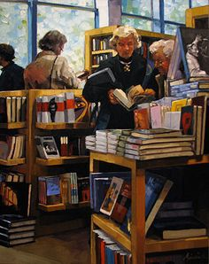 Karin Jurick---ohh this looks like a second bookstore, love them