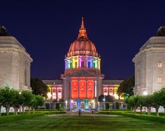 Beacons of Pride: #LoveWins in These Illuminated Buildings