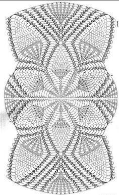 World Crochet Napkin 426 Filet Crochet, Col Crochet, Crochet Dollies, Thread Crochet, Crochet Motif, Crochet Stitches, Crochet Table Runner Pattern, Free Crochet Doily Patterns, Crochet Doily Diagram
