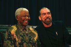 Nelson Mandela and John Paul DeJoria  www.paul-mitchell.co.uk