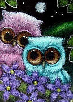 Google Image Result for http://www.ebsqart.com/Art/Gallery/Media-Style/684469/650/650/FANTASY-OWLS-MOTHERS-DAY-FLOWERS-R.jpg