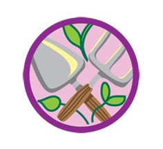 Girl scout leader 101 junior gardener badge what one leader did requirements for junior badge gardener visit a garden explore garden design learn how to choose garden plants experiment with seeds grow your own garden solutioingenieria Gallery