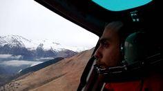 Helikopter transfer van Alpe 'd Huez naar Les deux Alpes