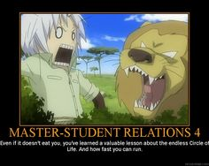 And with all the debt collectors after cross that is a very valuable lesson ^_^