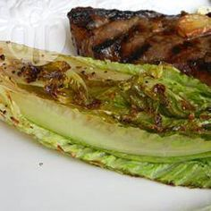 Photo de recette : Laitue romaine grillée